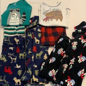 Bundle of four Gymboree Pajamas